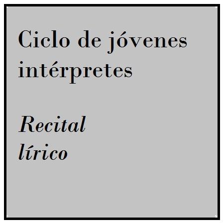 Imagen banner 14 y 15/abr RECITAL LÍRICO