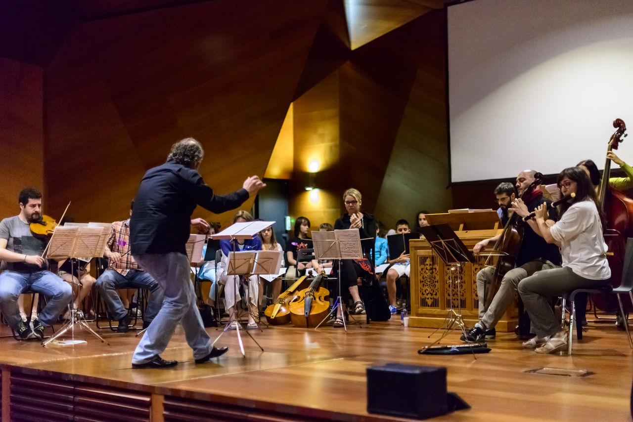 Ensayo Orquesta Carlos III